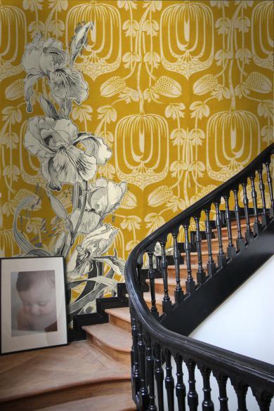 escalie maison jaune chaud et botanic
