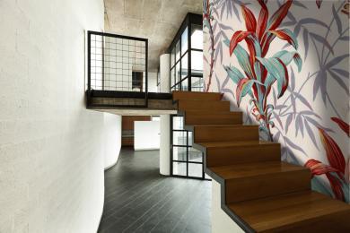 mise escalier loft