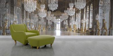 rea qatar rmn versailles fauteuil vert